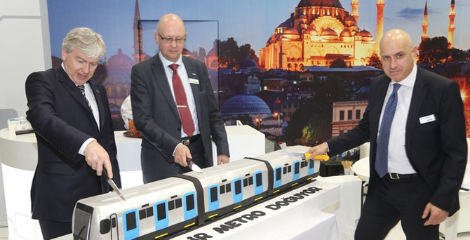 Bombardier, Türkiye'de üretim için yerel ortakla anlaştı