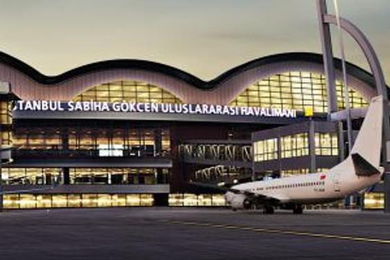 Sabiha Gökçen'de yolcu trafiği artışı Avrupa'dan fazla