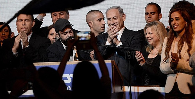 İsrail'de zafer Netanyahu'nun