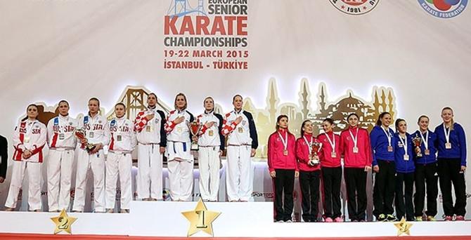 Karatede Milli sevinç