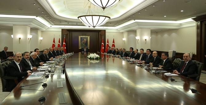 Bakanlar Kurulu ilk kez Köşk'te toplandı