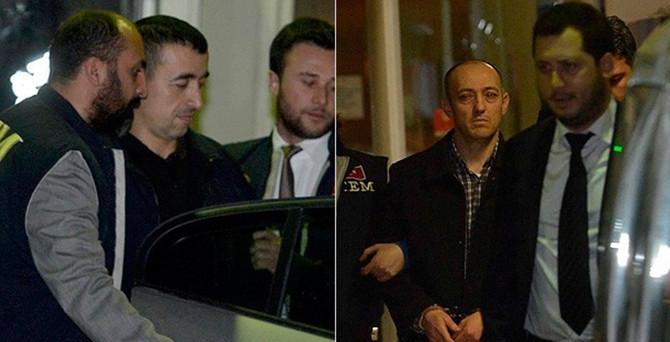 Romanya'nın iade ettiği polislere tutuklama