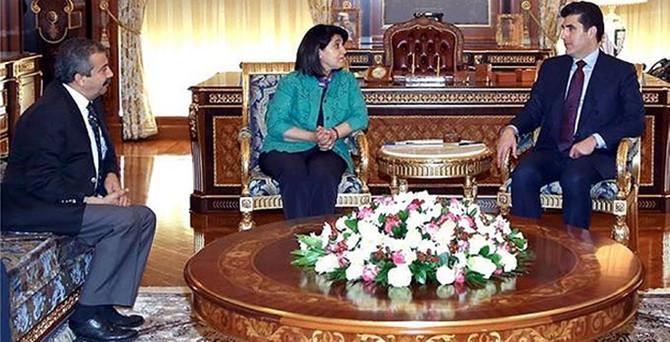 HDP heyeti Barzani ile görüştü