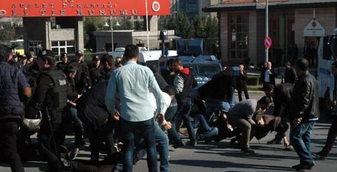 Adli Tıp önünde protesto: 38 kişi gözaltında