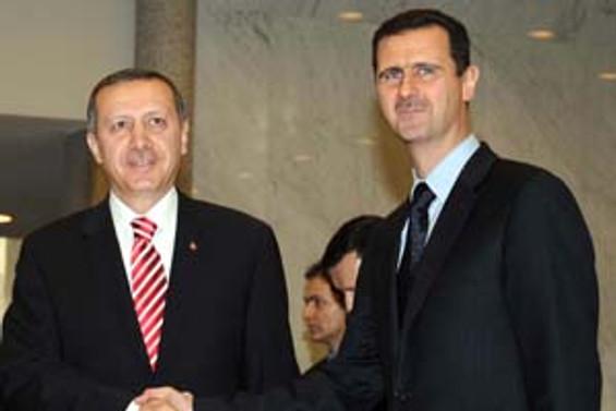 Erdoğan'la Esad, Bodrum'da görüştü