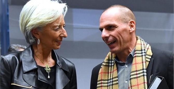 Yunanistan IMF borcunu ödeyecek