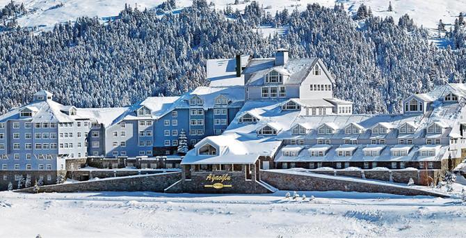 Uludağ'da kayak yapmanın tam zamanı