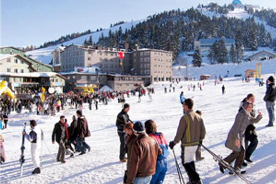 Avrupa'daki kara kış, iç turizme yaradı
