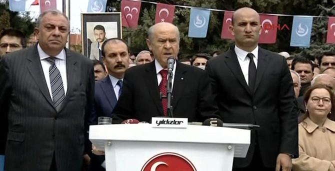 Alparslan Türkeş anıldı