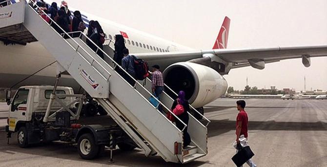 185 Türk vatandaşı daha tahliye edildi
