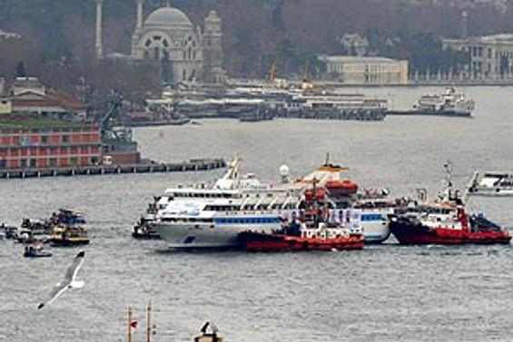 Mavi Marmara İstanbul'da