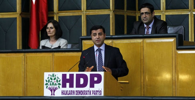 HDP'nin kesinleşmiş aday listesi belli oldu