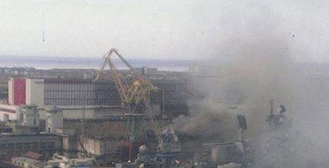 Nükleer denizaltıda yangın