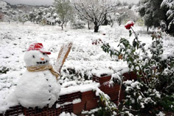 Yeni yıla karla gireceğiz