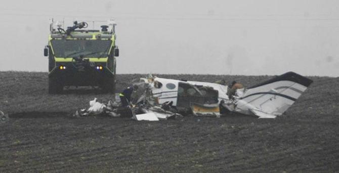 Basketbolcuları taşıyan uçak düştü, kurtulan olmadı!