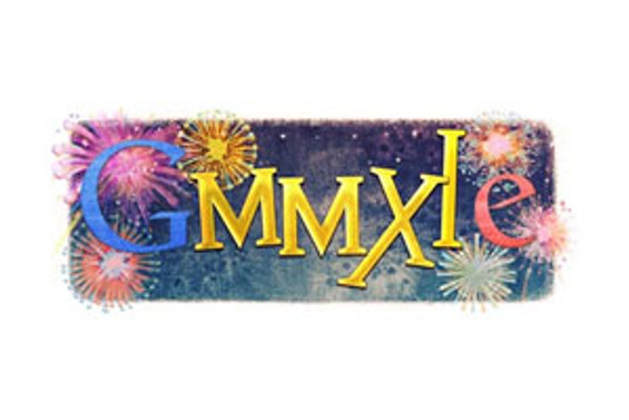 Google'dan 2011'e özel logo