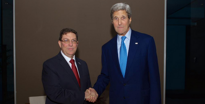 ABD ile Küba arasında tarihi görüşme