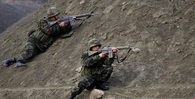 Diyadin'de güvenlik güçlerine ateş açıldı: 4 asker yaralı