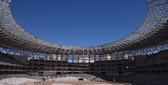 """Antalya """"Güneş enerjili"""" stadına kavuşuyor"""