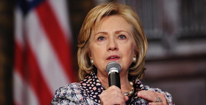 Clinton, ABD başkan aday adayı