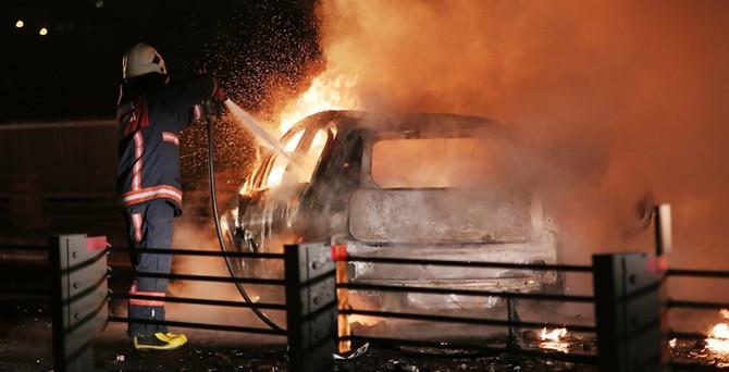 Haliç'te feci kaza: 2 ölü, 2 yaralı
