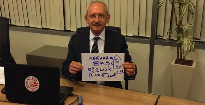 Kılıçdaroğlu Ekşisözlük'te soruları yanıtladı