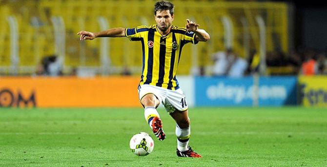 Fenerbahçe'ye Diego'dan  kötü haber