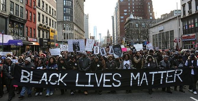 ABD'de polis şiddetine protesto