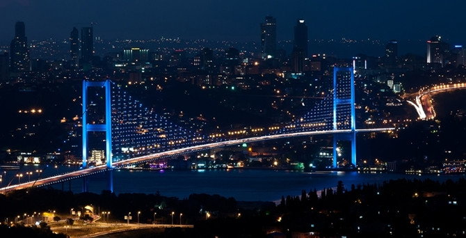 Boğaziçi Köprüsü 3 ay ışıksız kalacak