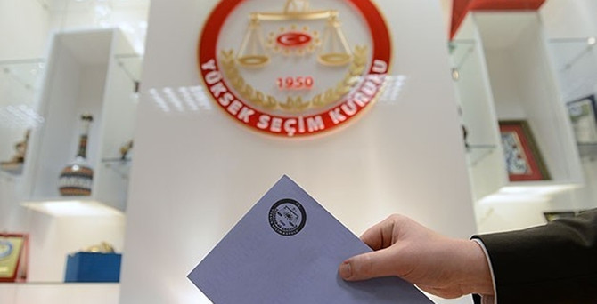 YSK aday listelerini yayımladı