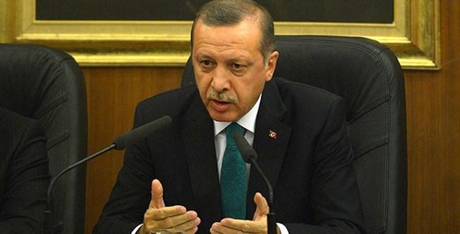 Erdoğan'dan KKTC Cumhurbaşkanı'na sert tepki