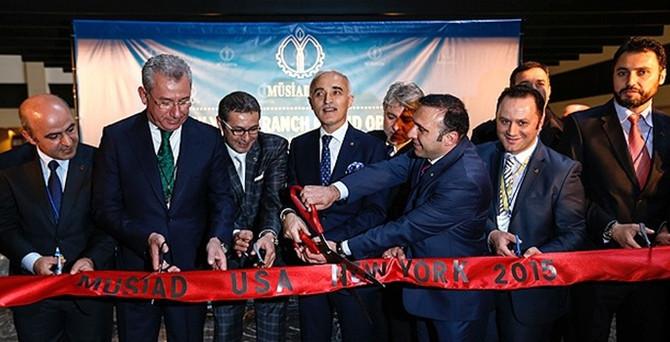 MÜSİAD New York şubesi açıldı
