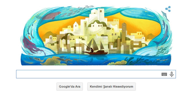 Google, Halikarnas Balıkçısı'nı unutmadı