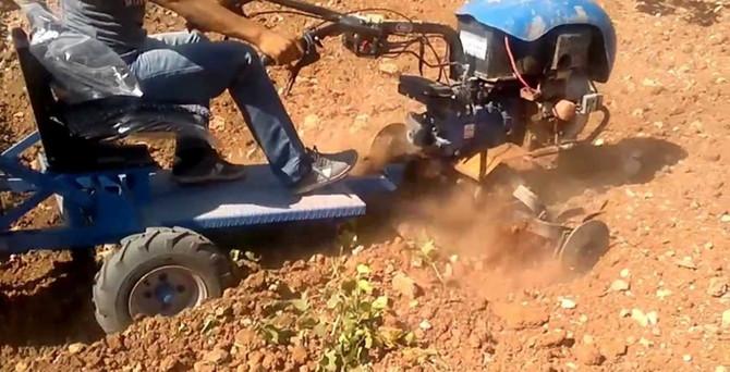 Çin malı çapa makinelerine damping önlemi