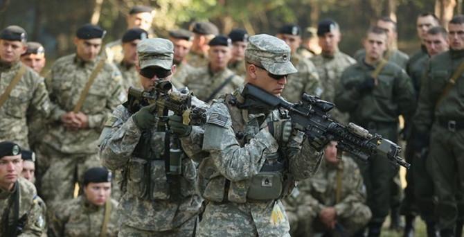300 ABD askeri askeri eğitim için Ukrayna'da
