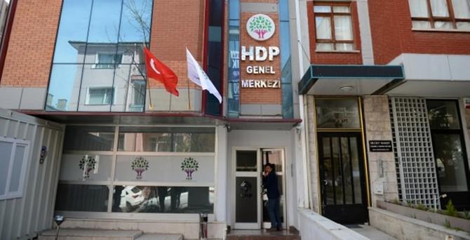 HDP Genel Merkezine saldırıda 2 gözaltı