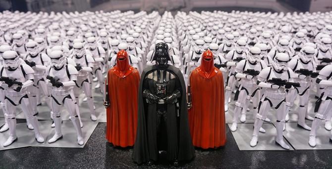 Binlerce Star Wars hayranı buluştu