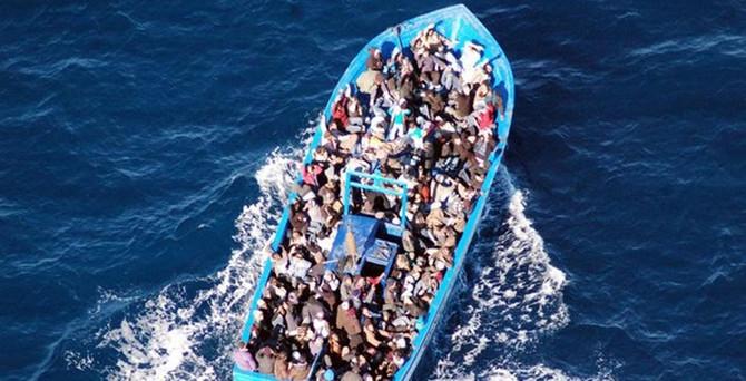 Akdeniz'de yine mülteci faciası