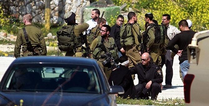 İsrail 9 Filistinliyi gözaltına aldı