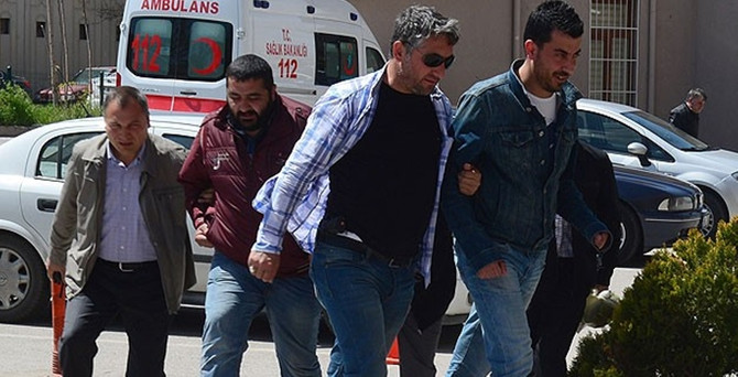 HDP saldırısının zanlıları savcılığa sevkedildi
