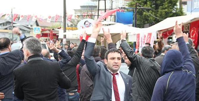 MHP seçim bürosu yakınında silah sesleri