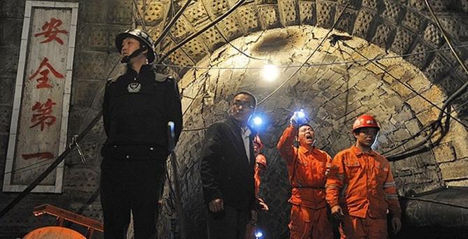 Çin'de kömür ocağını su bastı: 24 işçi mahsur