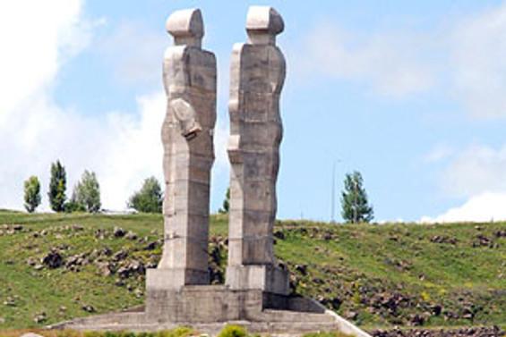'Ucube heykel' yıkılıyor