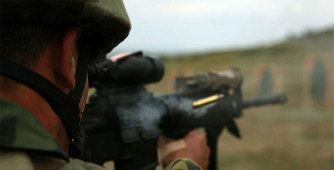 Uludere'de askere taciz ateşi