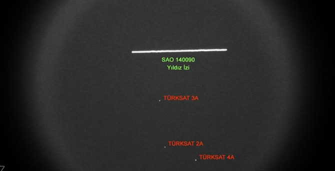 Uzaydaki 3 uydumuz aynı karede