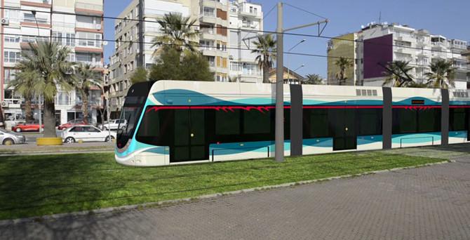 İzmir yeni tramvay hattı