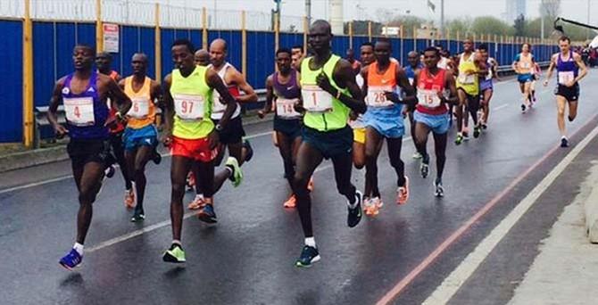 İstanbul Yarı Maratonu'na Kenya damgası
