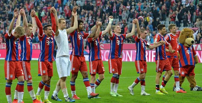 Almanya'da şampiyon Bayern Münich oldu