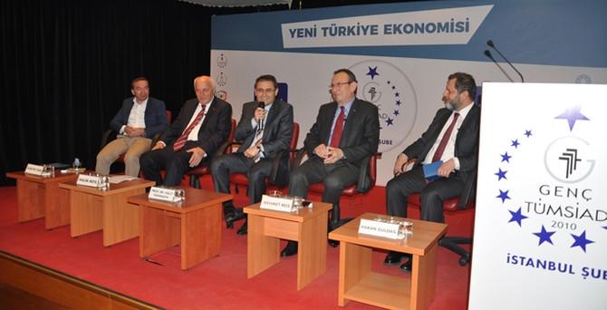 Genç TÜMSİAD 'Yeni Türkiye Ekonomisi'ni masaya yatırdı