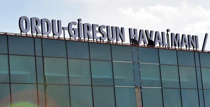 """""""Ordu Giresun Havalimanı"""" tabelası asıldı"""